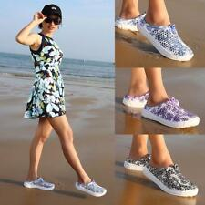 Women Luxury Sandals Hollow-out Shoes Breathable Slippers Slip-on Flats Shoes OC