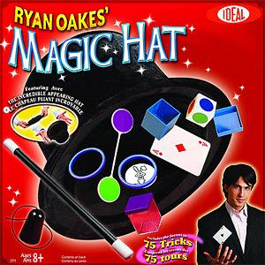 Ryan Oakes Magic Hat (0C2719)  Magic Trick POOF - Slinky LLC Oaks, Ryan