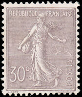 France #142 Used CV$175.00 1903 30c Violet