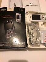😍 telephone vintage samsung sgh e250 pack complet tbe multimedia cool slim slid
