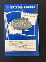 Bristol Rovers v Sunderland 1958/59