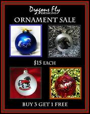 Ornaments Sale 4 Horse Ornaments Christmas Tree Ornament Friesian Horse Ornament