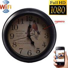 HD 1080P WIFI Hidden Spy IP Camera Alarm Clock Wireless Video Recorder Cam UK
