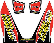 Pro Circuit DC14T6 Replacement Muffler Stickers T-6 794-9047 371-0584