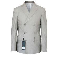 CORNELIANI CC Collection $930 double breasted blazer sport coat jacket 40/50 NEW