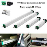 Linear Displacement Sensor Scale 50-400mm Injection Molding Position Transducer
