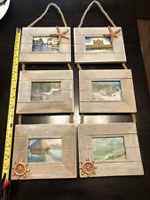 Ocean Decor Wood Frames
