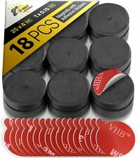 Craft Magnets Ceramic Magnets With Adhesive Backing 1 Inch Round Disc Magnets