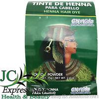 TINTE DE HENNA PARA CABELLO CASTAÑO CLARO HENNA HAIR DYE 75 GR 2.4 OZ GN+VIDA