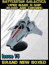 Eaglemoss Battlestar Galactica Viper Mark III Ship (Blood and Chrome) Issue 15