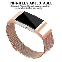 For Fitbit Charge 2 Wristband Strap Watch Band Milanese Stainless Steel Metal