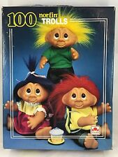 Golden puzzle Trolls Troll Dolls 1992 Vintage norfin 100 Piece Jigsaw Interlock