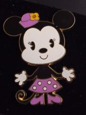 2006 BABY MINNIE MOUSE DISNEY PIN MOVING HIPS WITH CARDBOARD BACKING