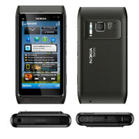 Unlocked Original Nokia Lumia N8 12MP Touchsreen 3G Black Wifi 16GB Smartphone