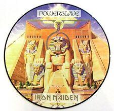 IRON MAIDEN VINYL LP POWERSLAVE - PICTURE DISC
