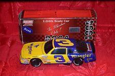 Dale Earnhardt #3 Wrangler 87 Monte Carlo Action Rcca 1:24 BWB 1 of 5016 rare