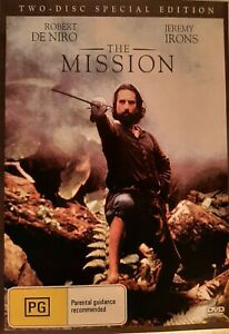 THE MISSION    Robert De Niro, Jeremy Irons, Ray McAnally  2 DVDs