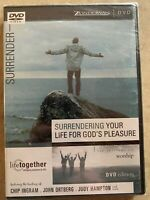 NEW Surrendering Your Life for God's Pleasure (DVD) Worship, Chip Ingram, Sealed