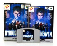"Nintendo 64 N64 JAP NTSC-J ""Hybrid Heaven"" Modul, Anleitung & OVP"