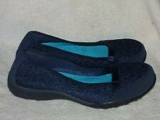 Women's Leather & Lace Shoes by Skechers Relaxed Fit Memory Foam - New -Sz 8 1/2