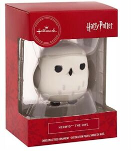 Hallmark Christmas Ornament Harry Potter Hedwig Bauble Boxed Present Gift NEW UK