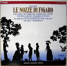 LP Neville MARRINER : Mozart Le nozze di Figaro / nice Philips digital promo