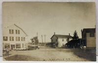 RPPC KIRKVILLE NY Stores Residence Street View c1908 Real Photo Postcard