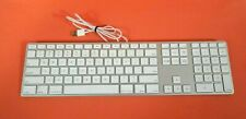 Apple A1243 USB Wired Slim Aluminum Keyboard - Free Shipping