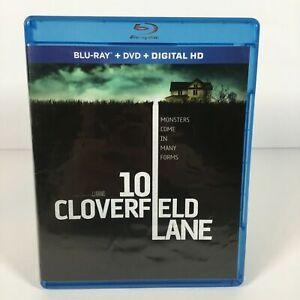 10 Cloverfield Lane J.J. Abrams Film (Blu-ray + DVD) John Goodman Thriller