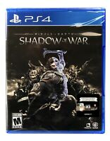 Middle-Earth: Shadow of War PS4 Brand New Sealed PlayStation 4 Action/Adventure