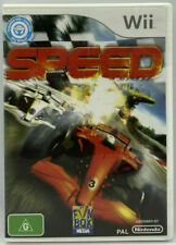 New listing SPEED GAME for Nintendo WII (Pal, 2010) Free Post
