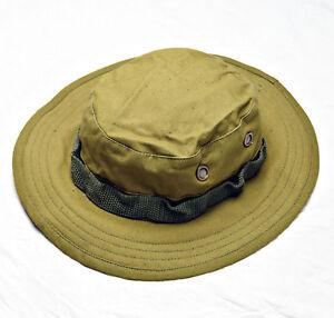Russian Military Bars Boonie Hat Cap Panama Sand Brown Khaki