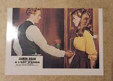 carte postale James Dean A l'Est d'Eden