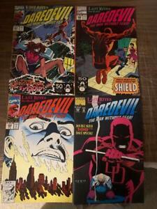 DAREDEVIL, #297-300, Marvel comics, Last Rites Series (CC2)
