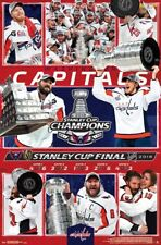 Washington Capitals 2018 Stanley Cup Champs CELEBRATION Commemorative POSTER