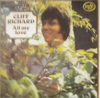 Cliff Richard(Vinyl LP 1st Issue)All My Love-Music For Pleasure-MFP 1420-UK-VG+/