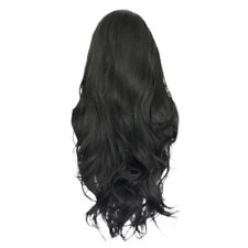 Real Human Hair Full Wigs Long Curly Wavy Hairpieces Front Lace Heat Safe