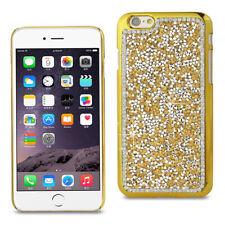 "Reiko Wireless iPhone 6S Plus/6 Plus 5.5"" Jewelry Bling Rhinestone Case - Gold"