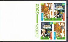 Georgien 2002 postfrisch  Markenheft D mit MiNr,  397D-398D  Europa Zirkus