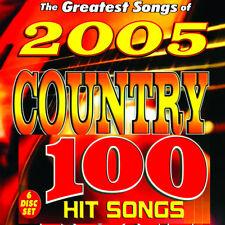 Chartbuster Karaoke -486 2005 Country male,Female CDG BOX Set  W/Xmas CD Bonus