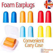 Ear Plugs in Carry Box Soft Foam Ear PPE Reusable Anti Noise