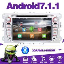 Android 7.1.1 2GRAM DVD GPS Autoradio Für Sliver(Silber )Ford Focus S-MAX Mondeo