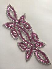 Motivo de bordado de apliques de lentejuelas Celta Rosa Baile Irlandés Disfraz