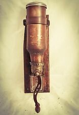 PEUGEOT FRERES Wall Mount Coffee Grinder Mill Artillery Shell Molinillo Moulin