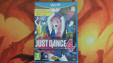 JUST DANCE 4 PRECINTADO SEALED WIIU WII U ENVÍO 24/48H COMBINED SHIPPING
