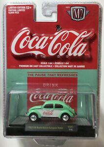 Coca-Cola 1953 VW Beetle Deluxe European Model - Toy Car Limited Edition / 2019