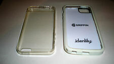 iphone 5 covers 1 clear 1 white