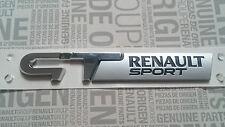 LOGO RENAULT SPORT GT EMBLEM SPORT CLIO 3 MEGANE 3, TWINGO 2 NEU/OVP ORIGINAL
