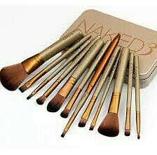 Urban Decay Naked 3 12 pcs makeup brush set