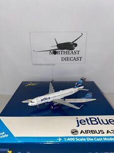 """1/400 Gemini Jets JetBlue a320 """"Barcode""""N805JB GJJBU1354"""